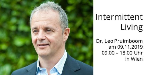 Intermittent Living - Dr. Leo Pruimboom in Wien