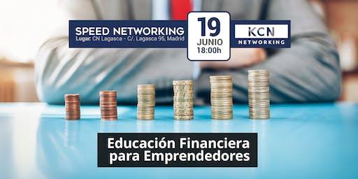 Educación Financiera para Emprendedores - Ponencia Sesión Speed Networking
