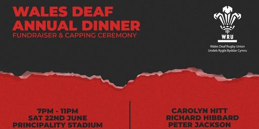 Wales Deaf Rugby Union Annual Dinner 2019