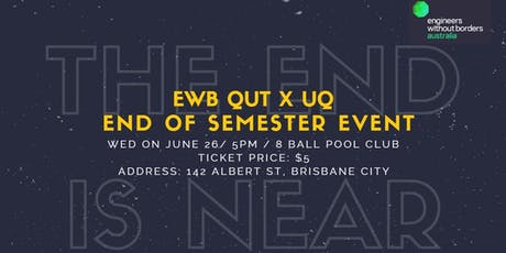 Engineers Without Borders End of Semester Event tickets