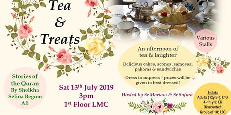 Tea & Treats tickets