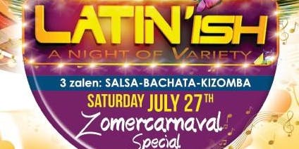 Latin'ish Afterpaty Zomercarnaval
