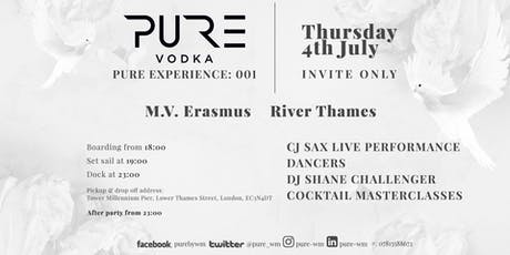 PURE EXPERIENCE: 001 - William McCoy tickets