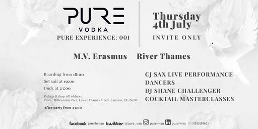 PURE EXPERIENCE: 001 - William McCoy