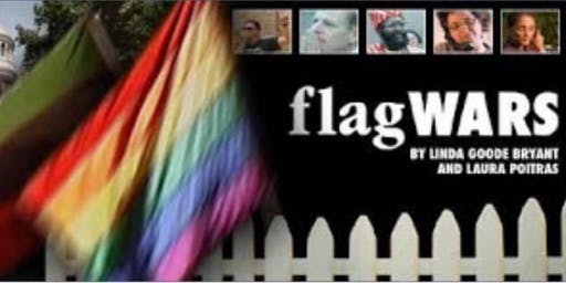 """Gentrification is Genocide! A film showing of """"Flag Wars"""""""