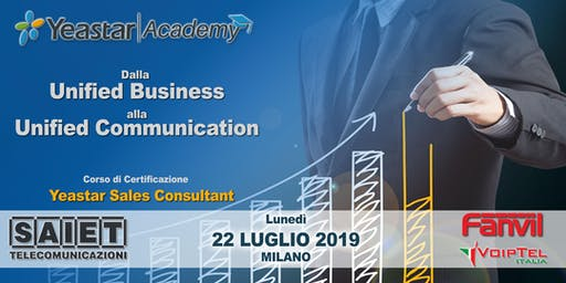 Corso di Certificazione Yeastar Sales Consultant - VoIP Unified Business
