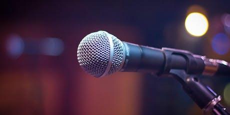 Public Speaking Workshop billets