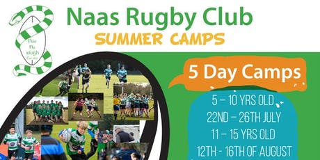 Naas Rugby Summer Camp 5 - 10 yrs tickets