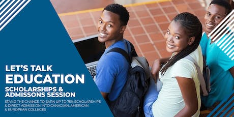 International Scholarships & Admissions Day - 2019/2020 intake tickets