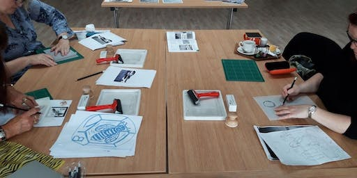 CREATE YOUR OWN LINO PRINT WORKSHOP