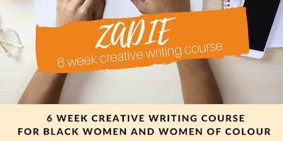 ZADIE - 6 WEEK EDITING & PUBLISHING COURSE