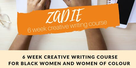 ZADIE - 6 WEEK EDITING & PUBLISHING COURSE tickets