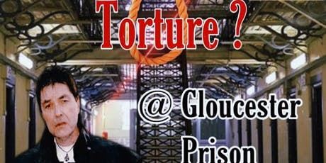 Execution! With Richard Felix @ Gloucester Prison- 27/07/2019- £50 P/P tickets