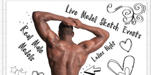 SIP AND STRIPPED: PAINT WITH MALE MODEL