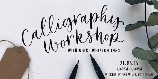 Beginner Modern Calligraphy Workshop - Brush Pen