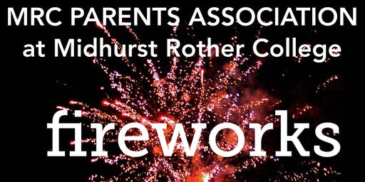 MRC Fireworks Friday 8th November 2019
