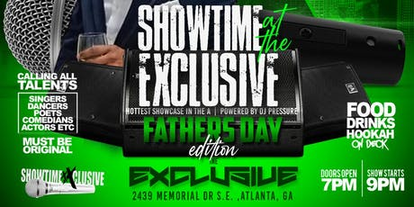 Showtime at The Exclusive  tickets