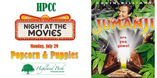 HPCC Night at the Movies - Popcorn & Puppies