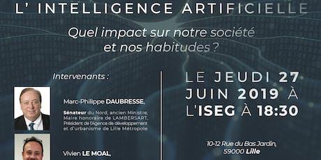 Glaydz-Conférence sur l'A.I avec le sénateur Marc Philippe Daubresse billets