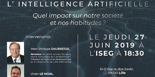 Glaydz-Conférence sur l'A.I avec le sénateur Marc Philippe Daubresse