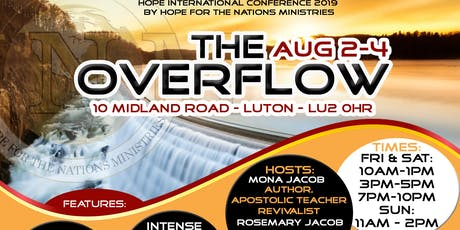 THE OVERFLOW - Hope International Conference 2019 tickets