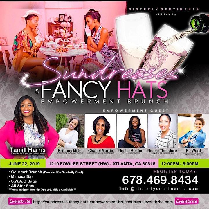 Sundresses & Fancy Hats Empowerment Brunch image