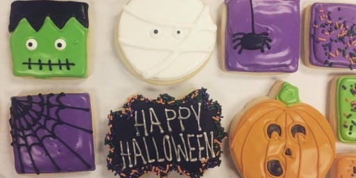 SOLD OUT - Halloween Themed Cookie Decorating Class (10/27/19)