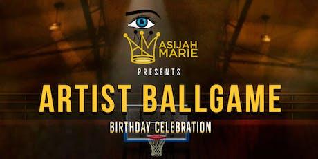 Asijah Marie's Artist Ballgame tickets