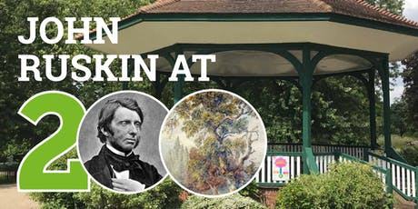 Exhibition Launch and Celebration: John Ruskin at 200 tickets