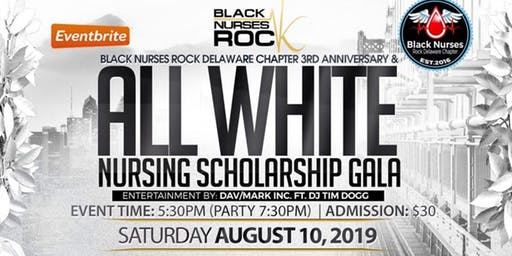 All White Nursing Scholarship Gala