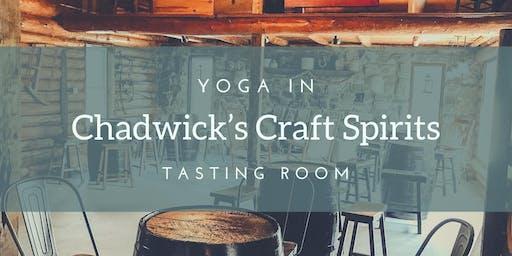 Yoga at Chadwick's Craft Spirits!