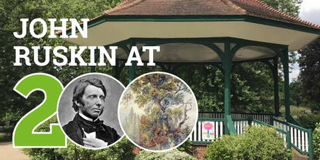 John Ruskin at 200: a walk through his territory tickets