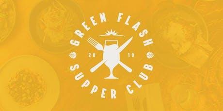 Green Flash Supper Club 2019 w/Chef Dave Warner from JRDN & Decoy tickets