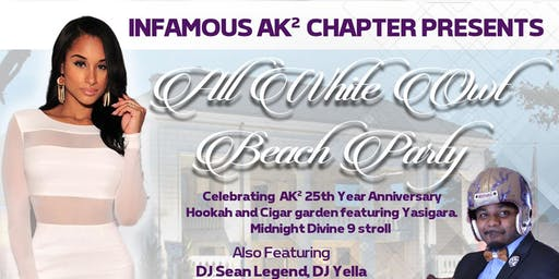 12th Annual All White Owt Beach Party