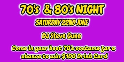 70's 80's Night