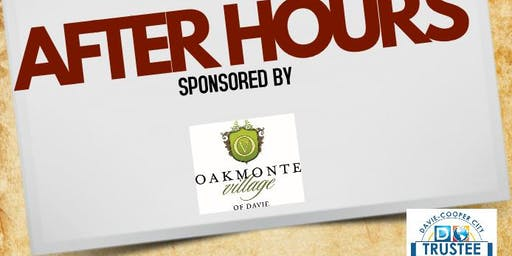 August AfterHours at Esposito's Fired Up Sponsored by Oakmonte Village of Davie