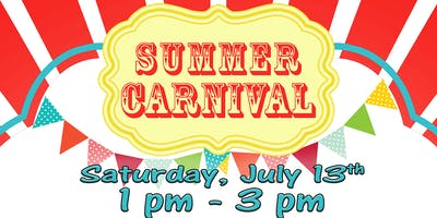 Lakeshore Mall Kidz Club - Summer Carnival