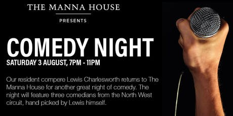 Comedy Night at The Manna House tickets
