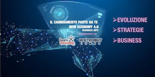 IL CAMBIAMENTO PARTE DA TE  NEW ECONOMY 4.0 - BUSINESS INFO