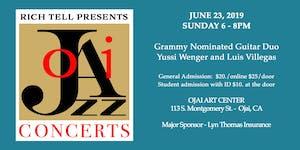 Grammy Nominated Guitar Virtuosos Yussi Wenger and Luis...