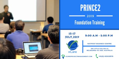 Prince2 Foundation Training | Melbourne | Australia | July | 2019 tickets