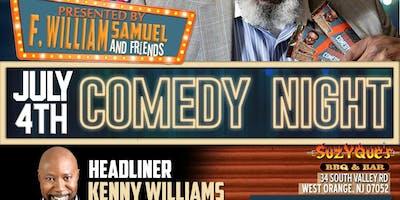 F. William Samuel and Friends presents Chocolate Thursdays Comedy Night-Season 4