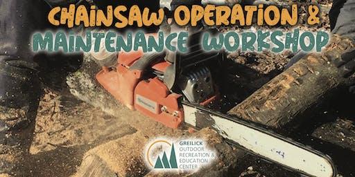 GOREC - Chainsaw Operation & Maintenance Workshop
