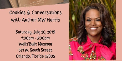Cookies & Conversations with Author MW Harris