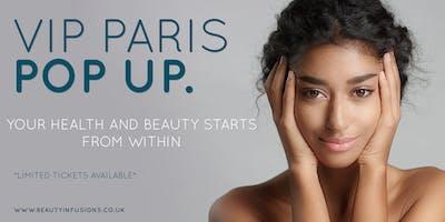 Beauty Infusions London - Paris Pop Up