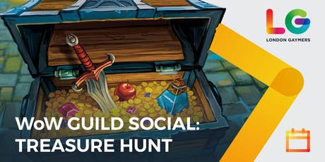 LG WoW Guild Social: Treasure Hunt! tickets