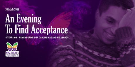 An Evening To Find Acceptance  tickets