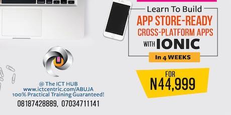 Abuja Mobile App Designer tickets
