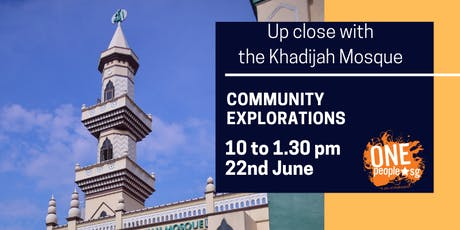 Heartland Dialogues and Experiences: Community Explorations - Up Close with the Khadijah Mosque tickets