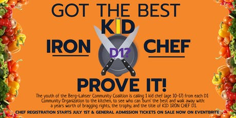 BLYC Kid Iron Chef D1Youth Cooking Competition tickets